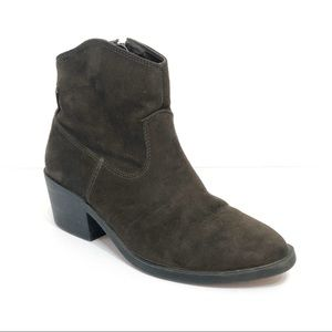 Forever 21 Olive Green Boot / Bootie with Heel